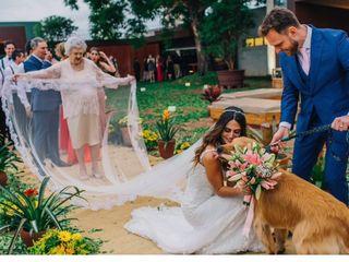 O casamento de Nicole e Fabio