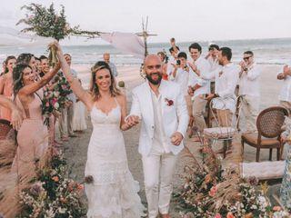 O casamento de Erika e Gustavo