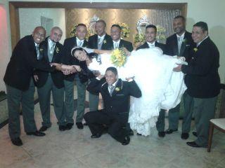 O casamento de Adriana e Leandro