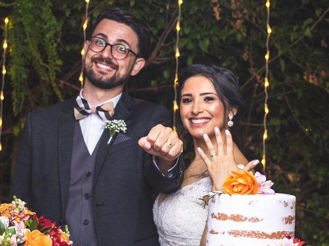 O casamento de Aline e Júlio