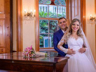 O casamento de Ághata e Clei