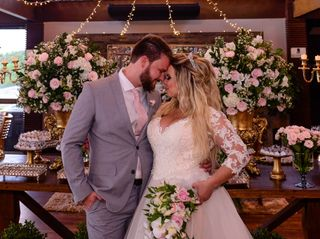 O casamento de Juliana e Mark