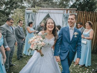 O casamento de Débora e Gabriel