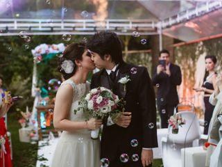 O casamento de Flavia e Emanuel