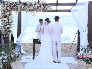 O casamento de Priscila  e Harland  1