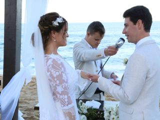 O casamento de Priscila  e Harland  2