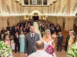 O casamento de Taise e Wagner