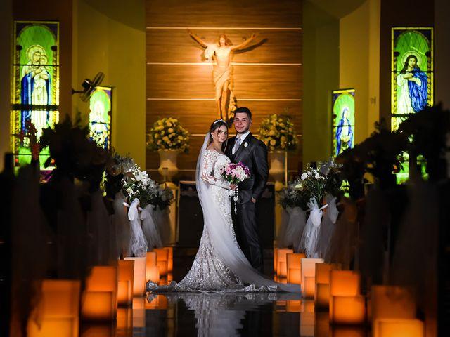 O casamento de Priscila e Matheus