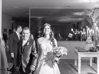 O casamento de julinha francieli e tales vicente