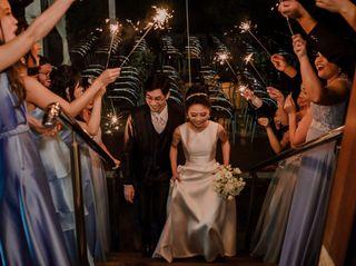 O casamento de Leila e Arthur