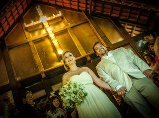 O casamento de Gabi e Leo