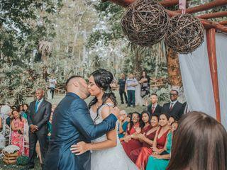 O casamento de Ruama e Glauber
