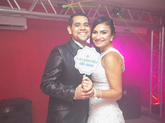 O casamento de Luana e Clayton