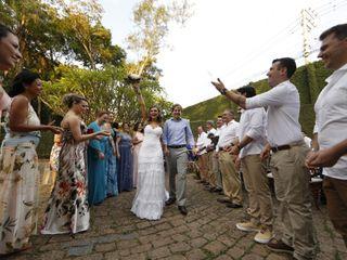 O casamento de Alana e Fernando