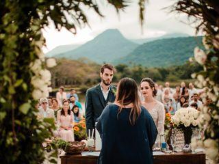 O casamento de Larissa e João