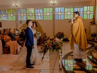 O casamento de Priscila e Dionathan