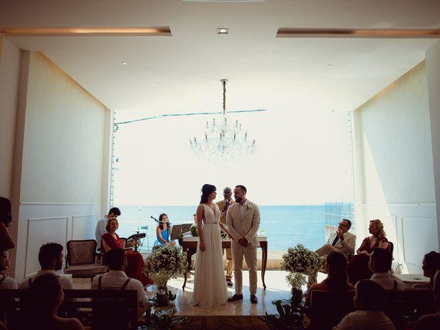 O casamento de Cauê e Mika em Salvador, Bahia 17