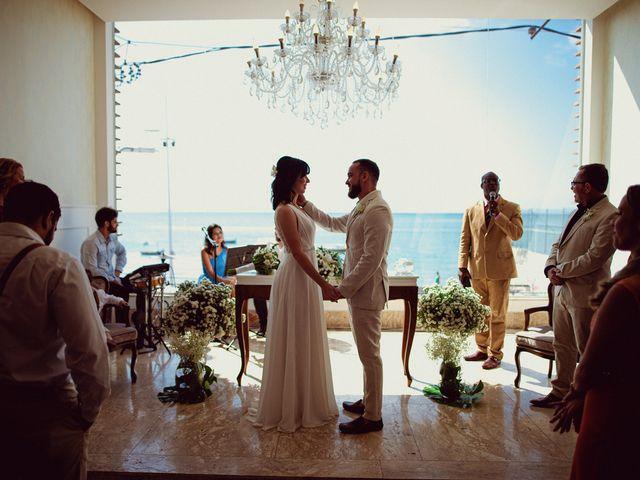 O casamento de Cauê e Mika em Salvador, Bahia 35