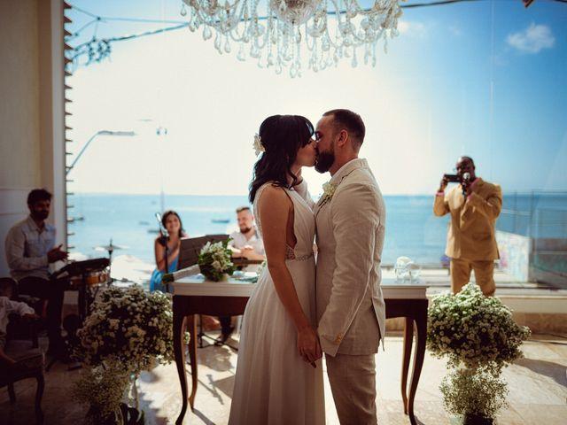 O casamento de Cauê e Mika em Salvador, Bahia 36