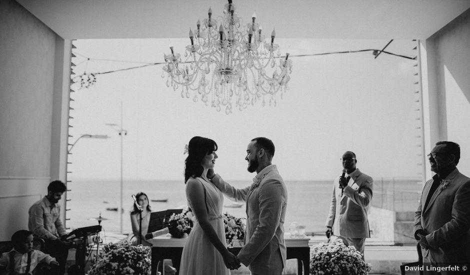 O casamento de Cauê e Mika em Salvador, Bahia