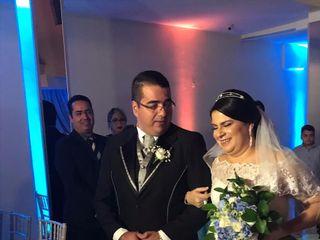 O casamento de Claudia e Cassiano