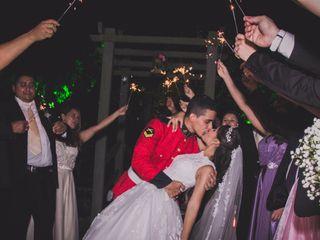 O casamento de Hanna e Ayrton