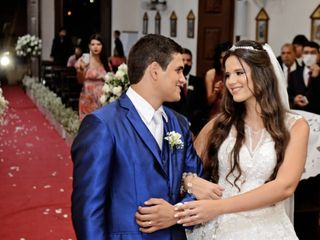 O casamento de Thaísa  e Gabriel