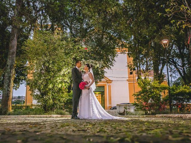 O casamento de Giseli e Geraldo