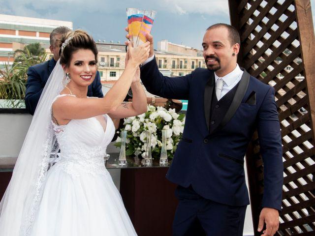 O casamento de Bianca e Alan