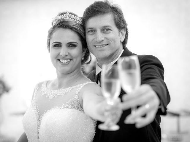 O casamento de Leila e Mauro