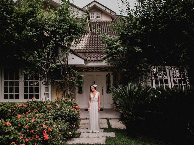 O casamento de Anne e Fernando