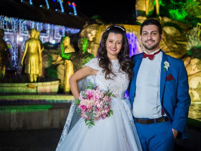 O casamento de Heron e Priscila