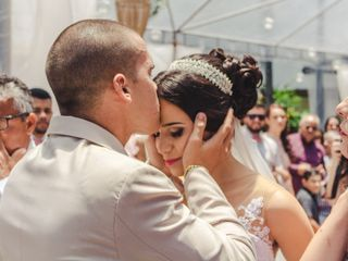 O casamento de Larissa e Lucas