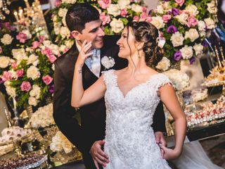 O casamento de Larissa e Davi