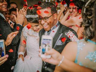 O casamento de Claudia e Elias