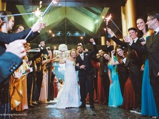O casamento de Claudia e Alex