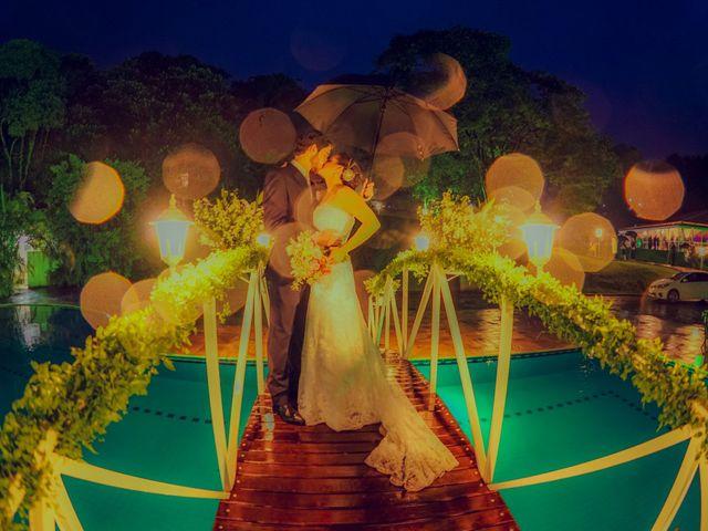 O casamento de Carina e Rodrigo