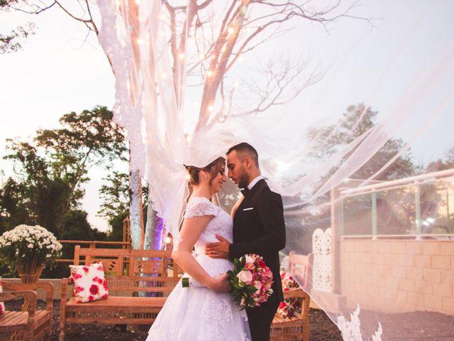O casamento de Bianca e Vinicius