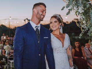 O casamento de Samantha e David