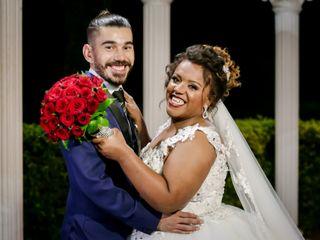 O casamento de Rosana e Artur