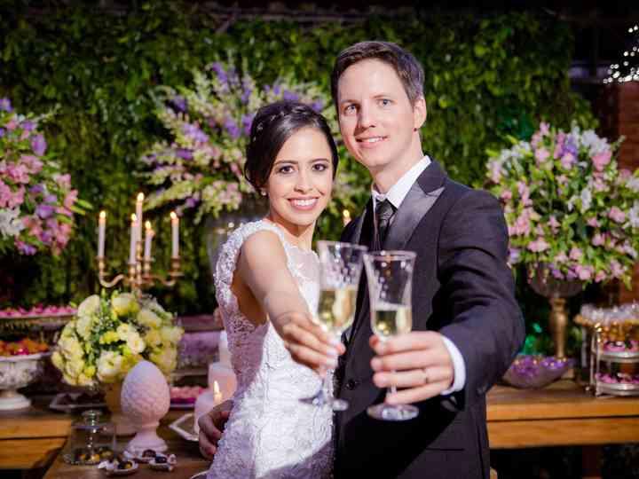 O casamento de Fernando e Kedma