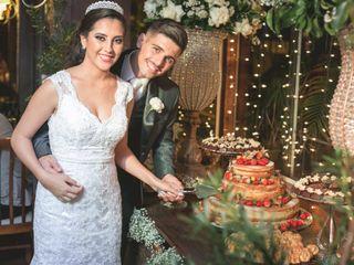 O casamento de Quézia  e Lauri