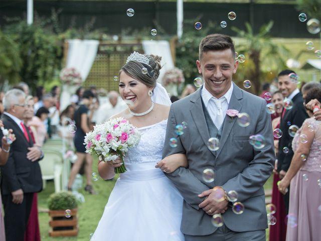 O casamento de Evelyn e Ruan