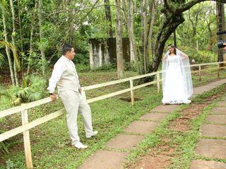 O casamento de Shirley e Vinicius