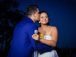 O casamento de Ester e Cristiano