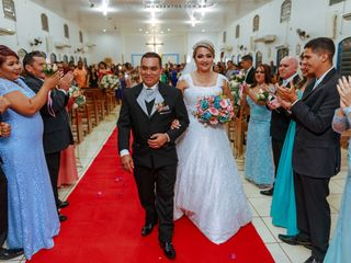 O casamento de Flausina  e José