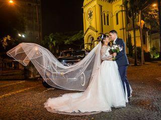 O casamento de Beatriz e Junior