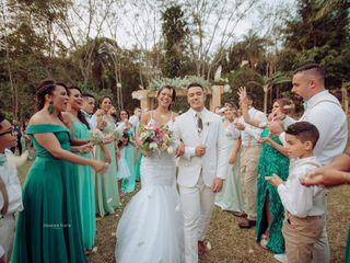 O casamento de Jéssica e Francis