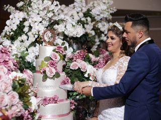 O casamento de Cibelle e Wendel