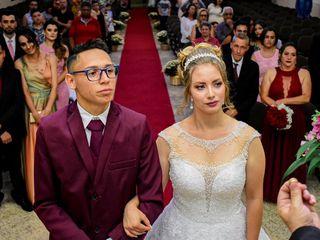 O casamento de Maria e Giovani